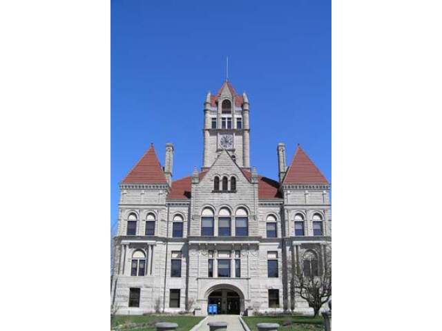 Rush County Courthouse  Rushville image