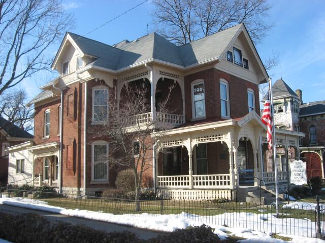 John K. Gowdy House  Rushville image