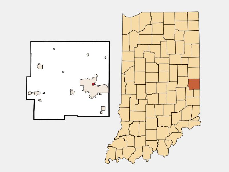 Spring Grove locator map