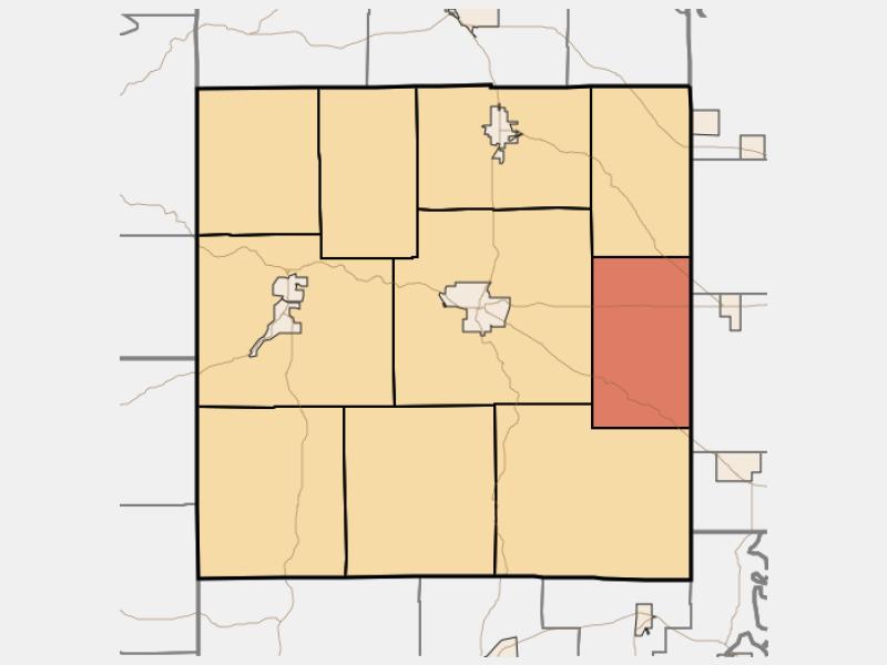 Stampers Creek locator map