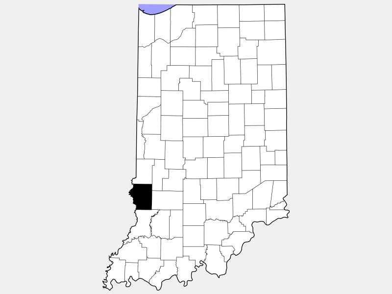 Sullivan County locator map