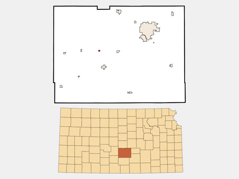 Abbyville locator map