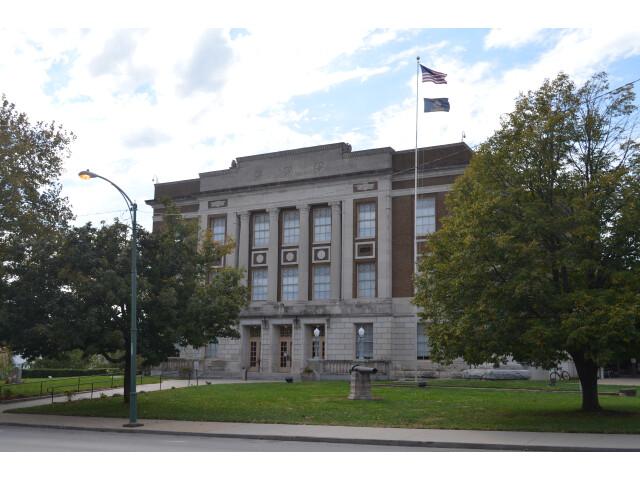 Bourbon County Courthouse - Fort Scott Kansas 10-10-2016 image