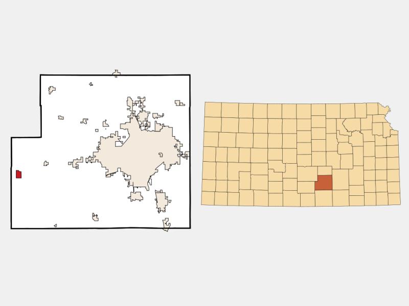 Cheney locator map