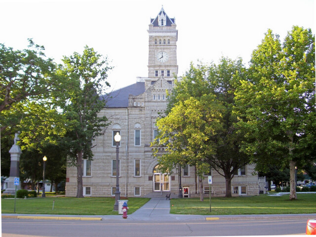 Clay County Kansas Courthouse image