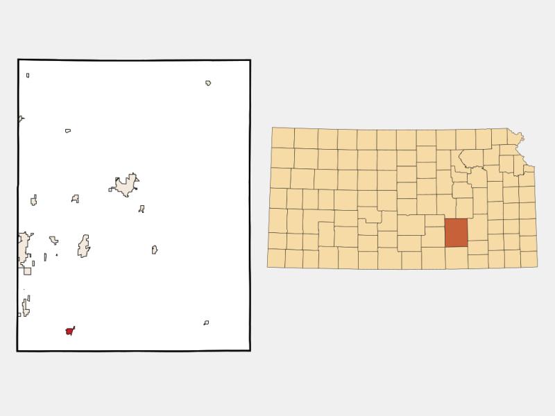 Douglass locator map