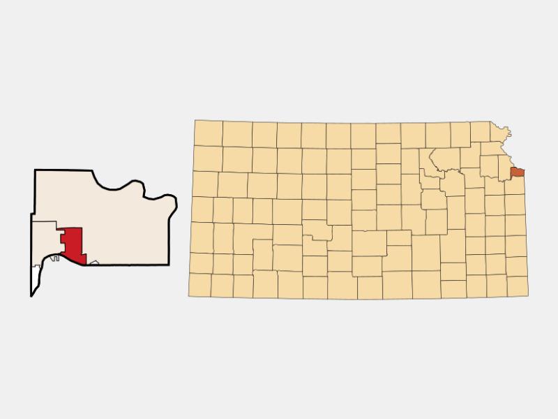 Edwardsville locator map