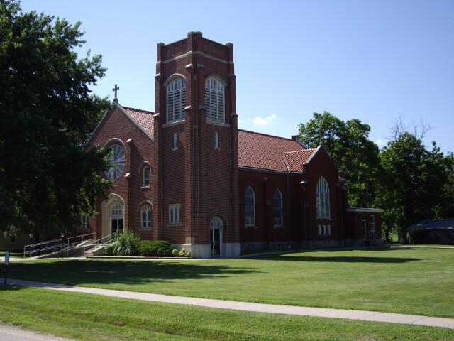St Patrick Catholic Church in Florence  Kansas image