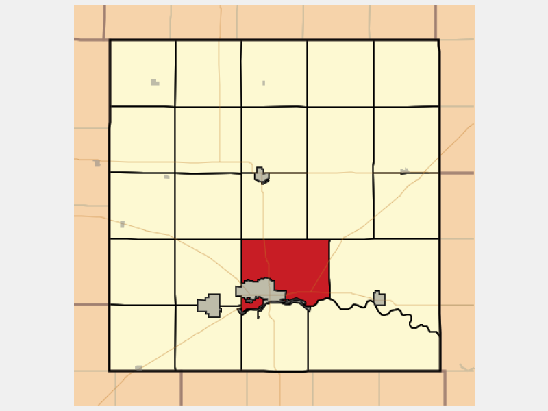 City of Great Bend location map
