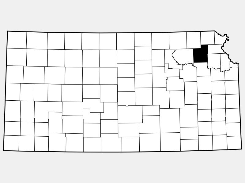 Jackson County locator map