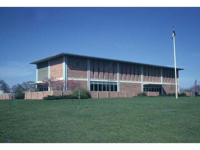 Jefferson county courthouse kansas image