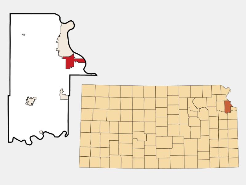 Lansing locator map