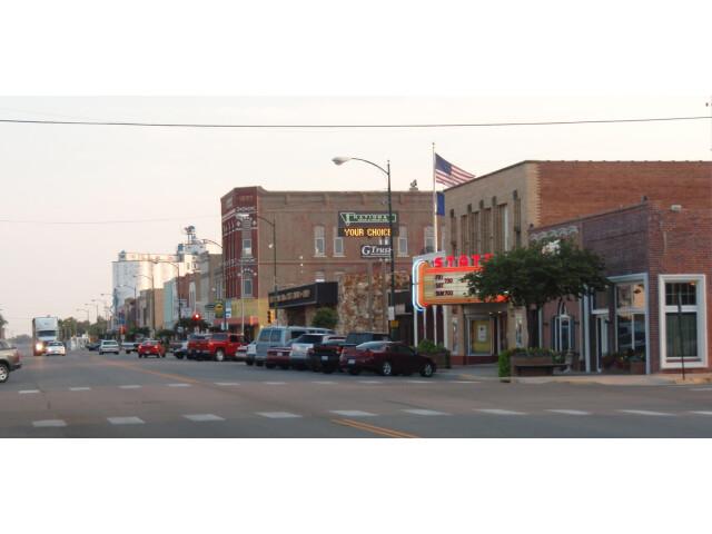 Downtown larned kansas 2009 image
