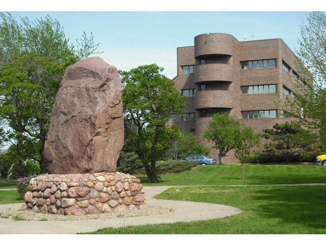 Shunganunga Boulder with City Hall image
