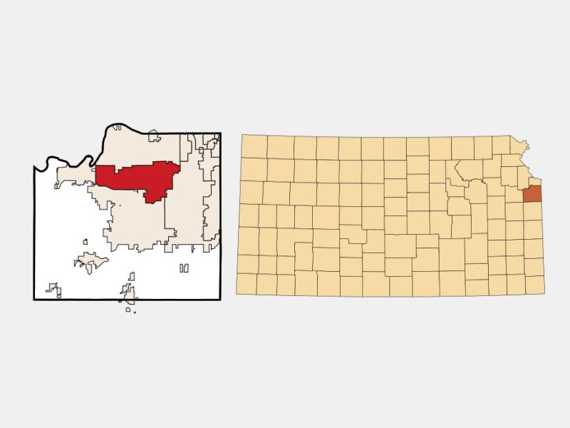 Lenexa location map