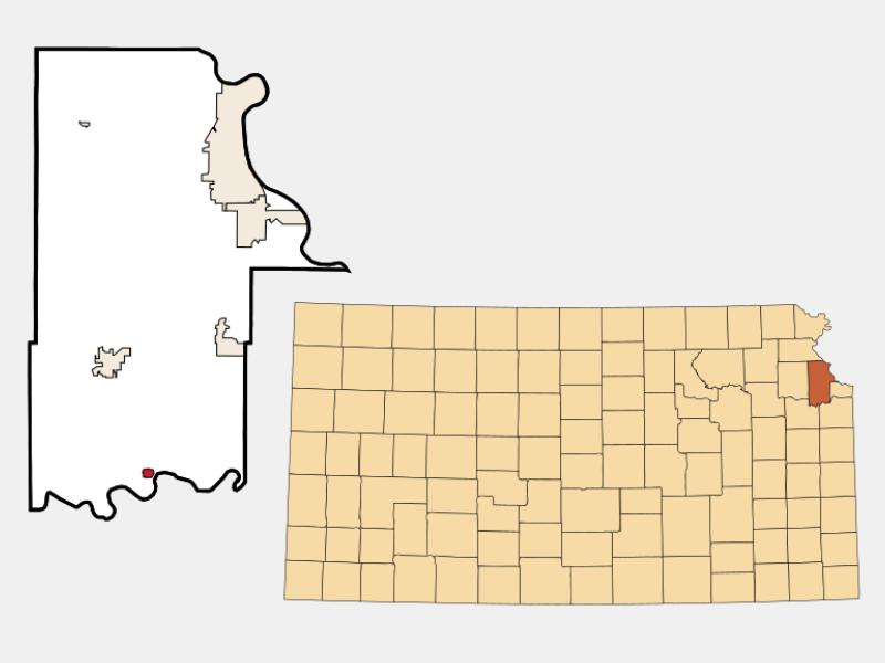 Linwood locator map