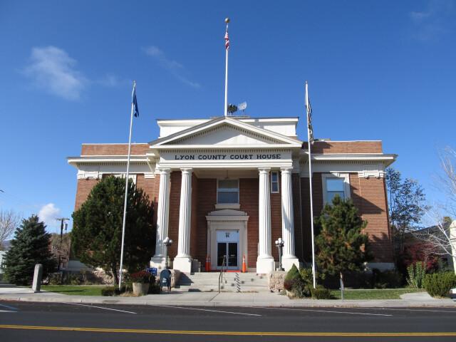 Lyon County Courthouse 'Nevada' image