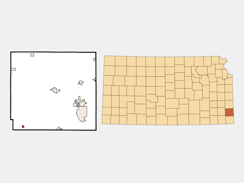 McCune locator map