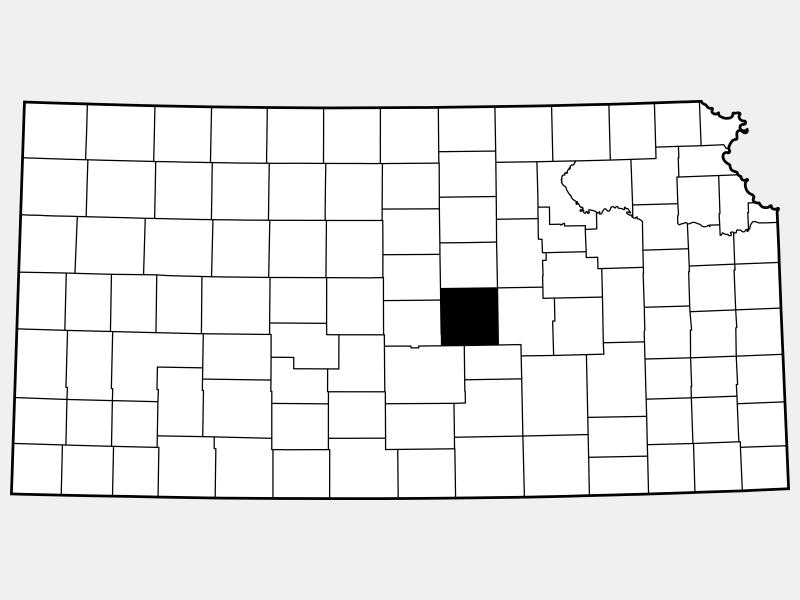 McPherson County locator map