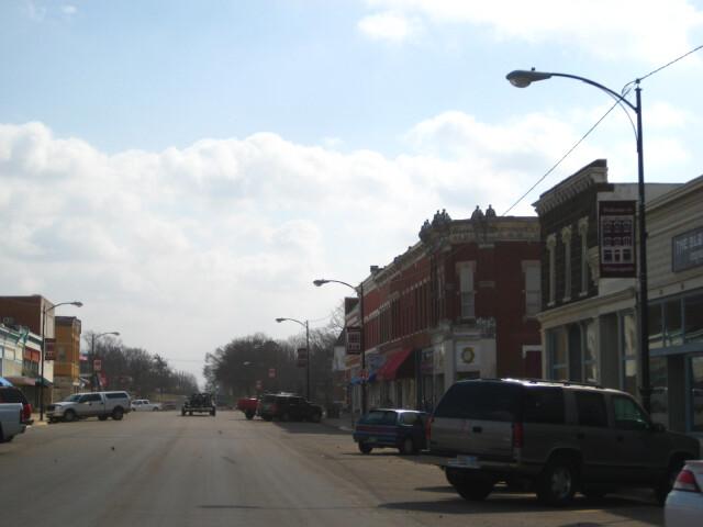 Downtown minneapolis kansas 2009 image