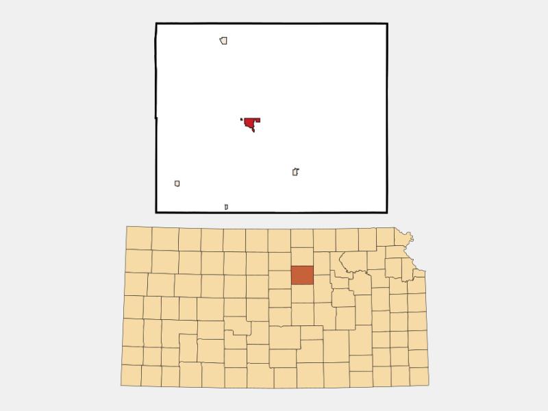 Minneapolis locator map