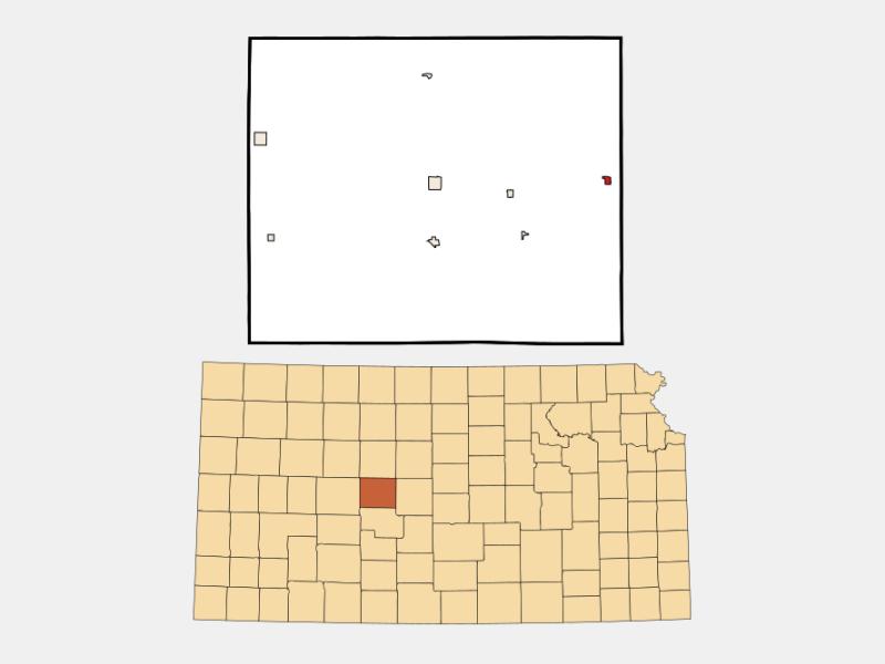 Otis location map