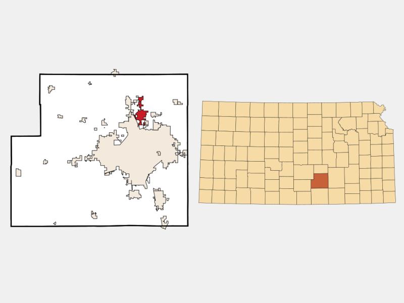 Park City locator map