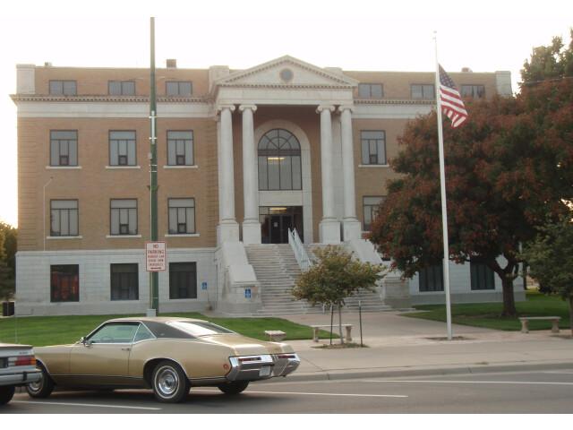 Pawnee county kansas courthouse 2009 image