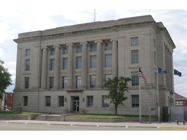 Rooks County  Kansas courthouse from NE 1 image