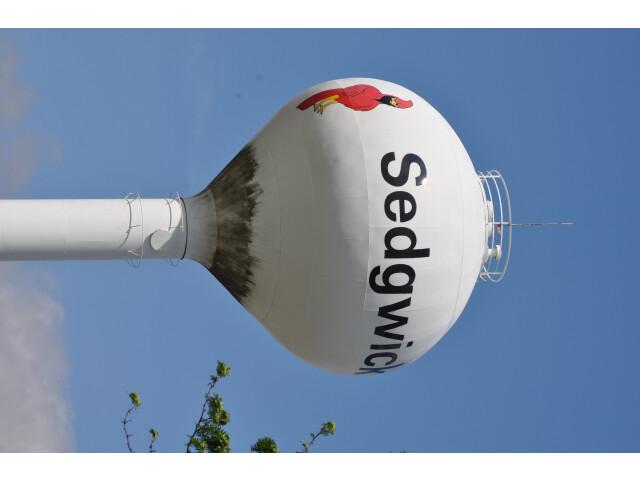 Sedgwick Water Tower image