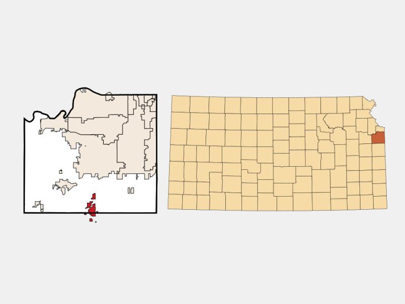 Spring Hill locator map