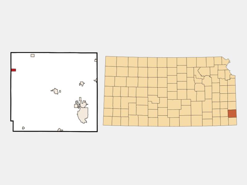 Walnut locator map