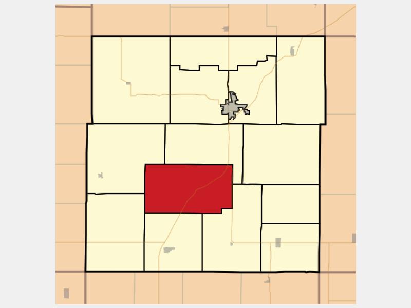 Welda locator map