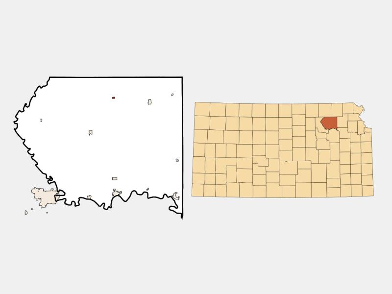 Wheaton locator map