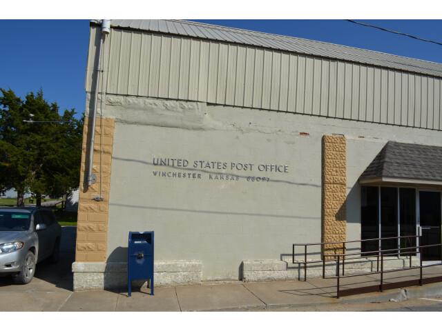 Winchester Kansas Post Office 9-16-2014 image