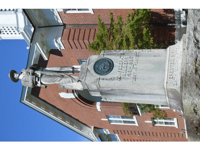 Bath County war memorial image