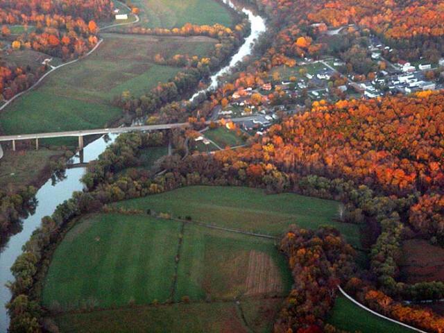 Brownsville Kentucky Aerial image