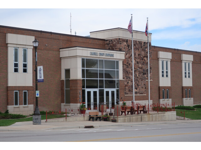 Campbell County Courthouse in Gillette  Wyoming image