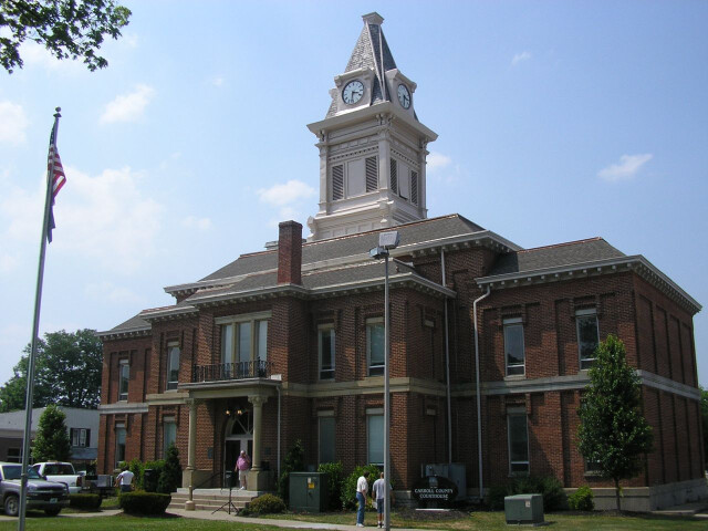 Carroll county kentucky courthouse image
