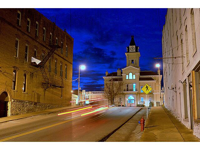 Columbia kentucky night 2008 image
