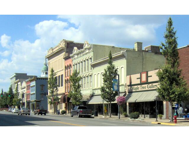 Danville  Kentucky Downtown view image