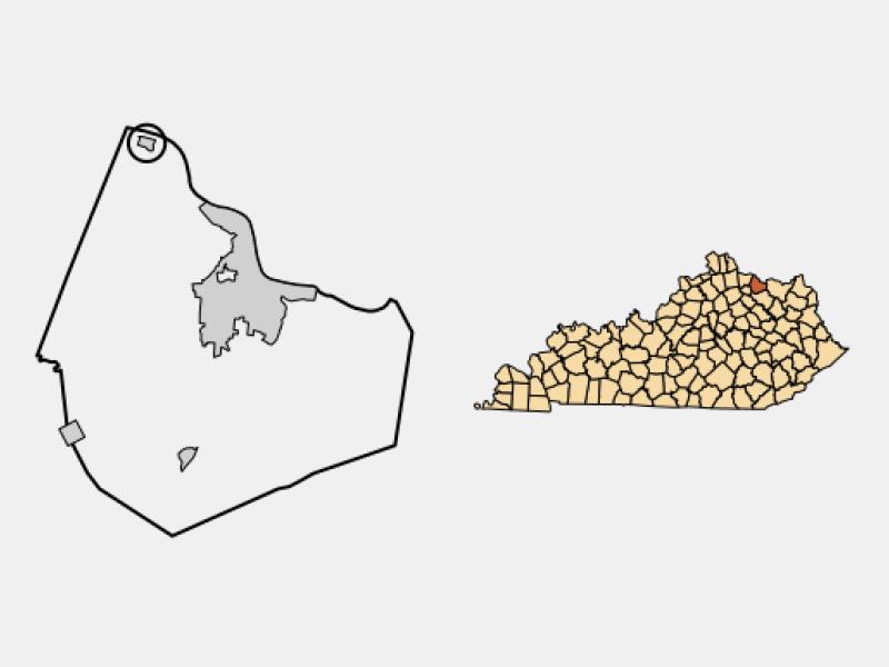 Dover locator map