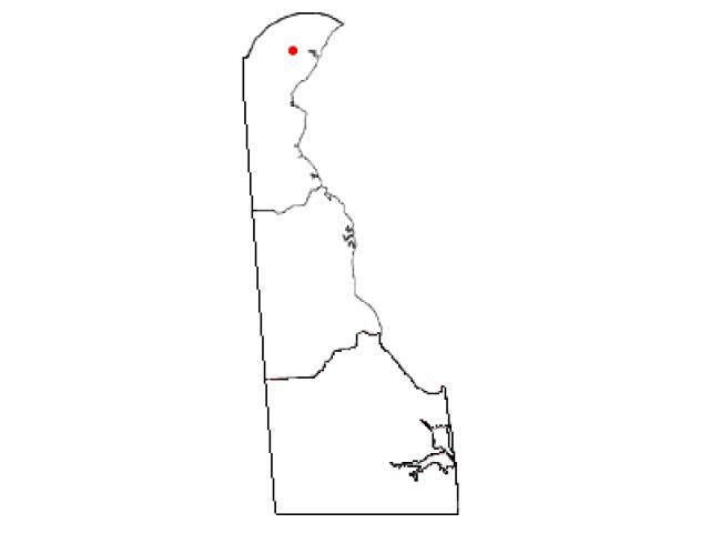 Elsmere locator map