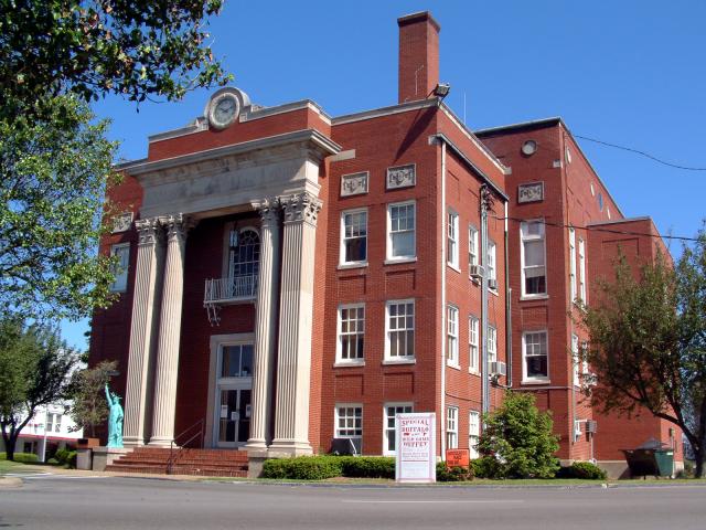 Grayson County  Kentucky courthouse image