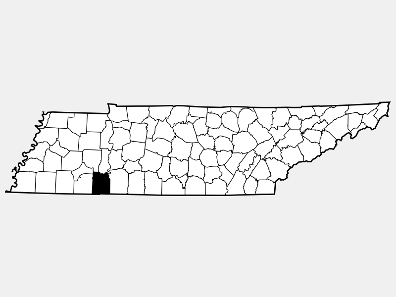 Hardin County, KY locator map
