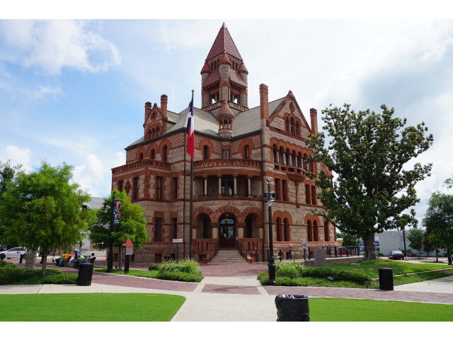 Sulphur Springs June 2015 02 'Hopkins County Courthouse' image