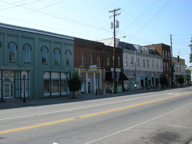 Downtown irvine image