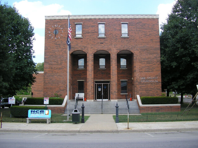 Lee County Kentucky Courthouse image