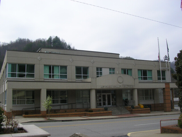 Letcher county courthouse image