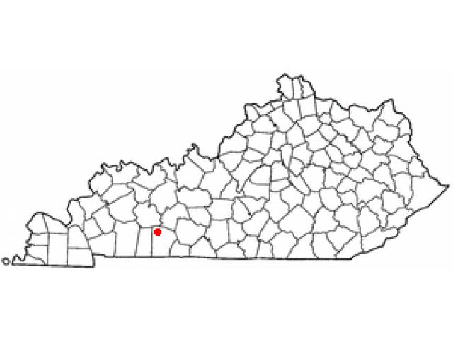 Lewisburg location map